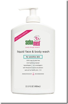 Paraben-free Liquid Face and Body Wash 400mL high res jpeg